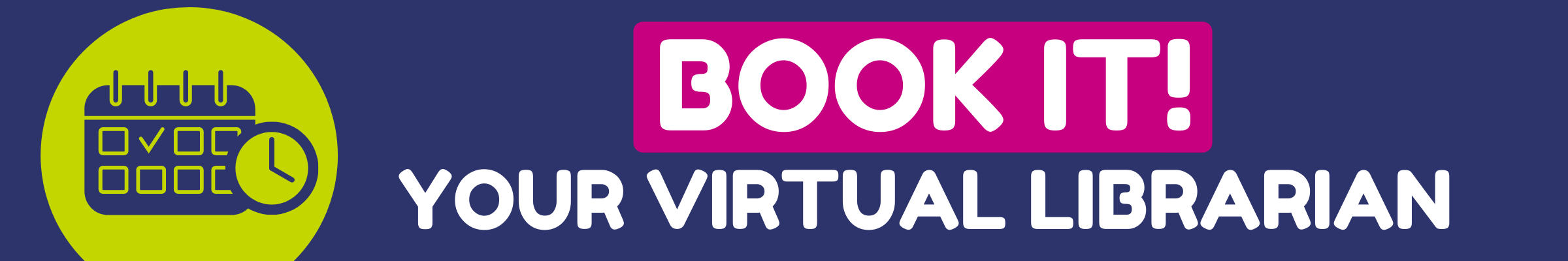 Book It Your Virtual Librarian